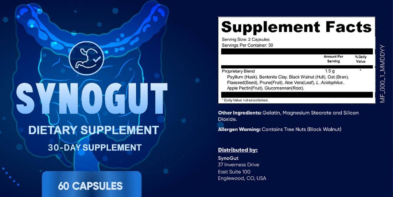 SynoGut - Protects Gut Health - How does it work?